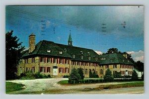 Newton NJ- New Jersey, St. Paul's Abbey, Queen of Peace, Chrome c1972 Postcard