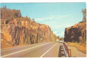 Intresting Rock Formations Intrigue Travellers Alon Canadia HIghways, Ontario...