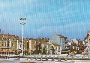 Bulgaria Burgas Town Scene