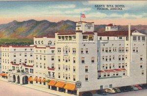 TUCSON , Arizona , 1930-40s ; Santa Rita Hotel