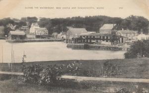 NEW CASTLE & DAMARISCOTTA, Maine, 30-50s; Along the Waterfront