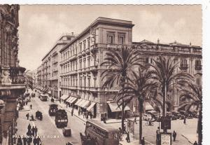 PALERMO, Sicily, Italy; Roma Road, 20-30s