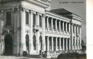 Romania Turnu Severin theater building