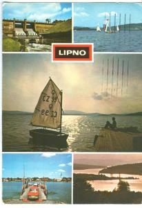Czech Republic, LIPNO, 1980 used Postcard