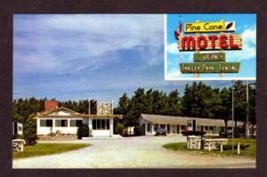 NB Pine Cone Motel PENOBSQUIS NEW BRUNSWICK Canada PC