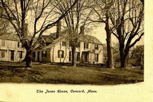 MA - Concord. The Jones House