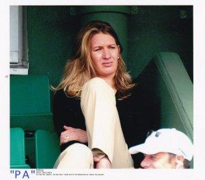 Steffi Graf at Roland Garros Tennis Tournament 2002 PA News Press Photo