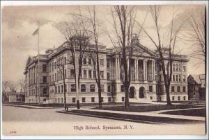 High School, Syracuse NY