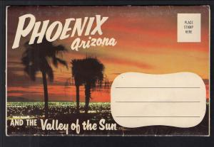 Phoenix Arizona and the Valley of the Sun Souvenir Folder