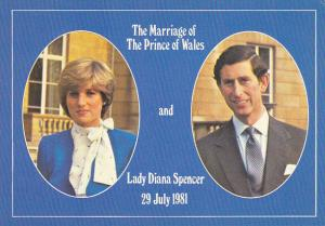 Royal Wedding Prince Charles and Princess Diana 29 July 1981