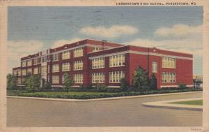 Hagerstown High School, HAGERSTOWN, Maryland, PU-1939