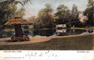 Canada B.C. Victoria, Beacon Hill Park 1906