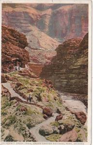 Tucks Arizona Horseback Riders On Hermit Creek Trail Grand Canyon National Pa...