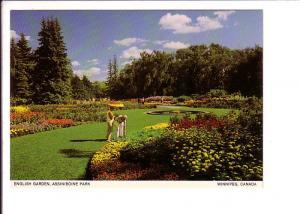 English Garden, Assiniboine Park, Winnipeg, Manitoba