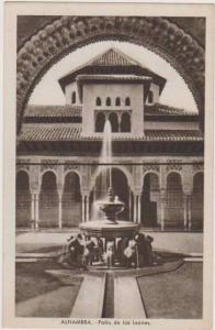 Fountain, Patio de los Leones, Alhambra, Granada, Spain 1900-10s