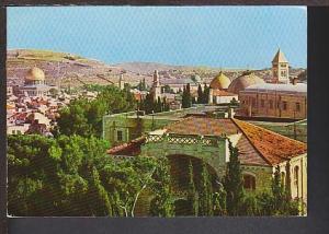 Mosque of Omar Jerusalem Israel Postcard BIN