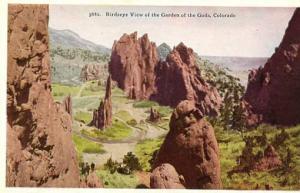 CO - Garden of the Gods, Bird's Eye View
