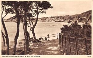 Grange-over-Sands from North Promenade (Morecambe Bay) South Lakeland