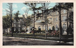 Laurel-In-The-Pines, Lakewood, New Jersey, Early Postcard, Unused