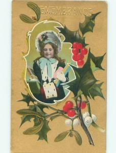 Divided-Back CHILDREN SCENE Great Postcard AA6198