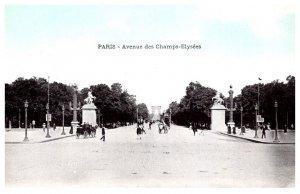 France Paris  Avenue des Champs Elysees