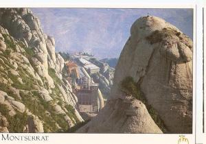 Postal 046688 : Montserrat. Vista aerea