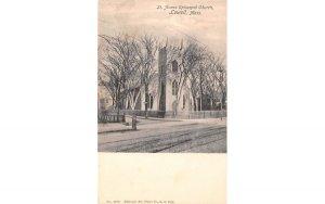 St. Annes Episcopal Church Lowell, Massachusetts Postcard