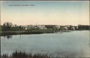 Pocasset Cape Cod MA South Shore Homes c1910 Postcard #3