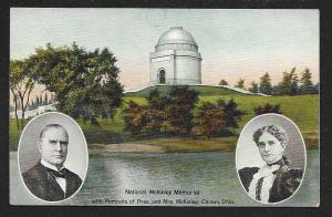 National McKinley Memorial Canton OH used c1908