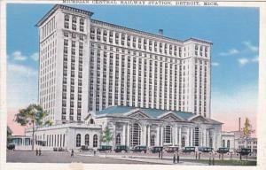 Michigan Detroit Michigan Central railway Station