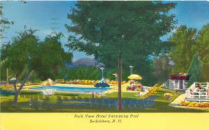 Bethlehem New Hampshire 1964 Postcard Park View Hotel