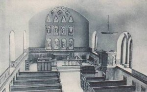 Virginia Smithfield Old St.Lukes Church Albertype