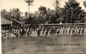 CPA Liftwacht van den Sultan van DJOJCA. INDONESIA (169910)