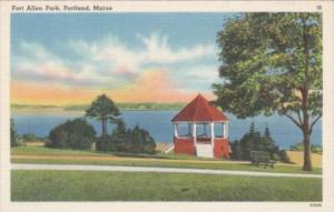 MaIne Portland Fort Allen Park