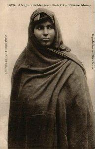 CPA AK Fortier 1673 Afrique Occidentale- Femme Maure SENEGAL (812057)