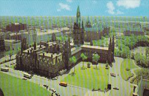 View From The Peace Tower Ottawa Ontario Canada