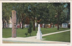 Ohio Gallipolis Riverfront Park Curteich
