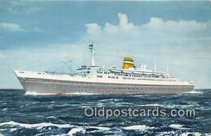 SS Statendam Holland America Line Ship Postcard Post Card Holland America Lin...