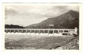 RP; Main Spillway, Bonneville Dam, Oregon, 10-20s
