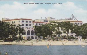BILOXI, Mississippi, 1940-1960s; Hotel Buena Vista And Cottages