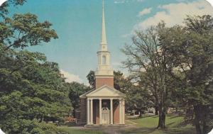 The Manning Memorial Chapel, at Acadia University, Wolfville,  Nova Scotia,  ...