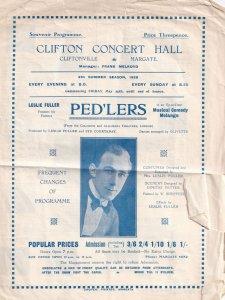 Margate Clifton Concert Hall Kent Antique Theatre Programme