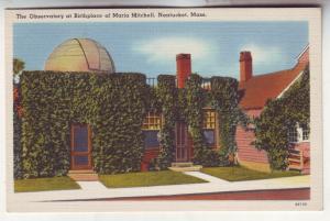 P577 JLs 1930-45 linen unused space observatory nantucket mass