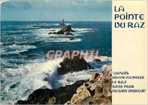 Modern Postcard The Pointe du Raz Finistere The extreme tip with the often st...