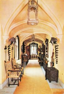 Postcard, The Long Gallery, Anglesey Abbey, Interior, Lode, near Cambridge 85Y