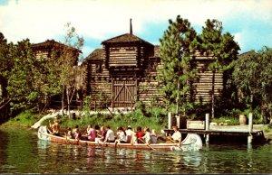 Florida Walt Disney World Frontierland Canoes