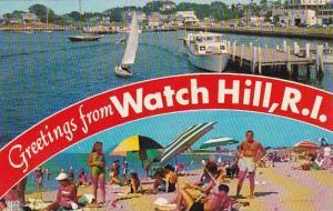 Rhode Island Watch Hill Greetings From Watch Hill