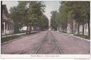 North Main Street, FAIRMOUNT, Indiana, PU-1908