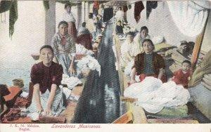 Mexico Lavanderas Mexicanas Wash Day sk1437a