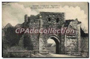 Old Postcard Provins Porte St Jean outdoor monument View of the XII and XIII ...